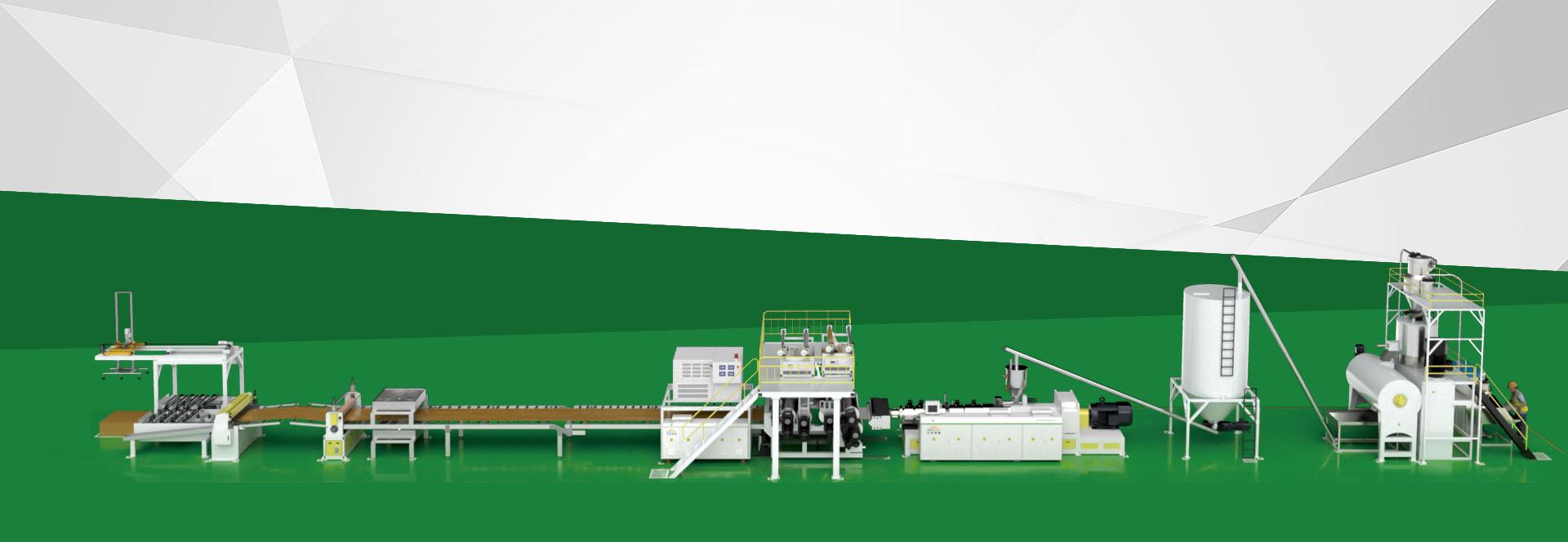 EIR SPC Flooring Production Line