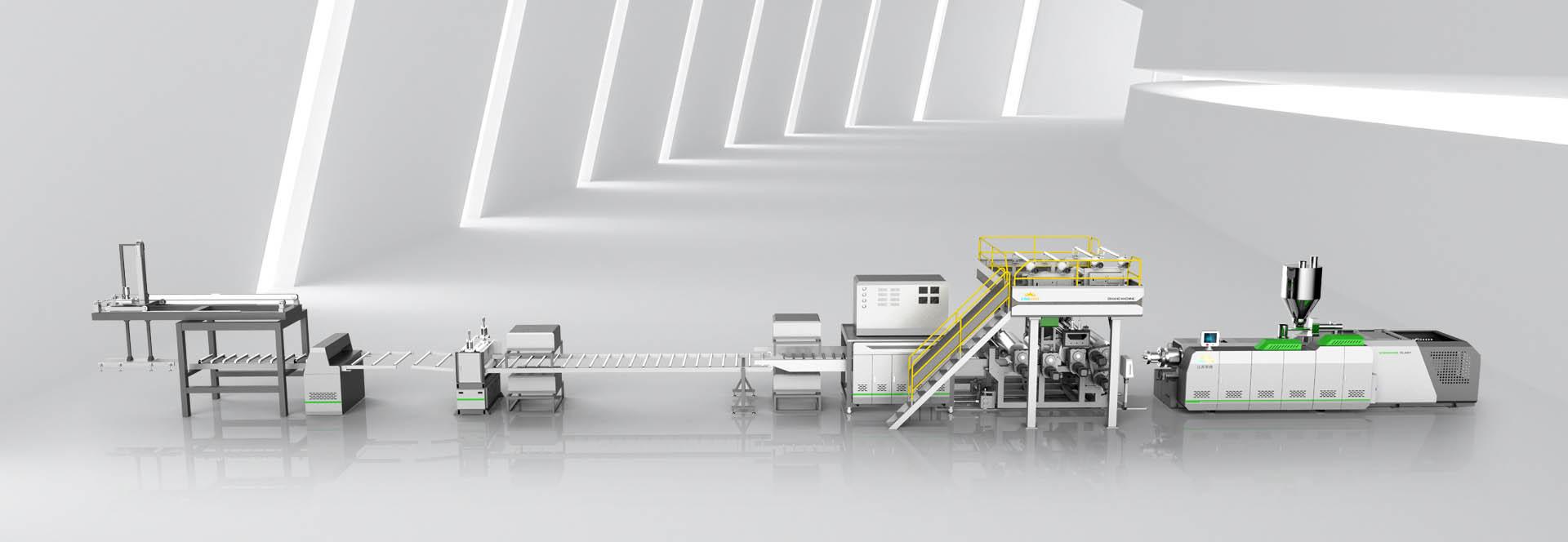 High Capacity EIR SPC Flooring Production Line