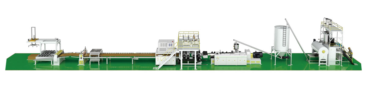 EIR SPC Flooring Production Line(Conical Extruder)