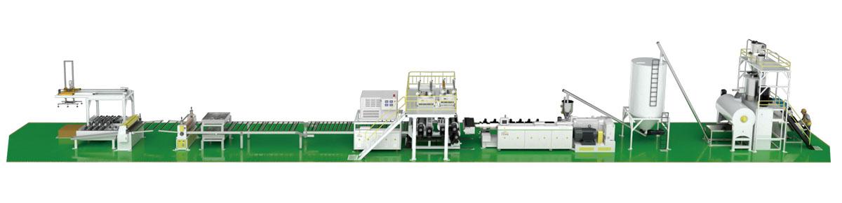 EIR SPC Flooring Production Line(Parallel Extruder)